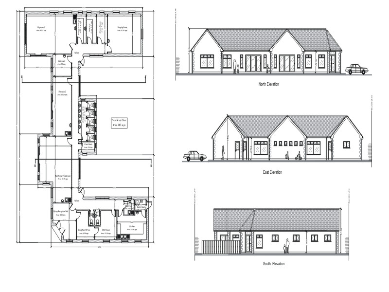 Creche project near Naas in County Kildare