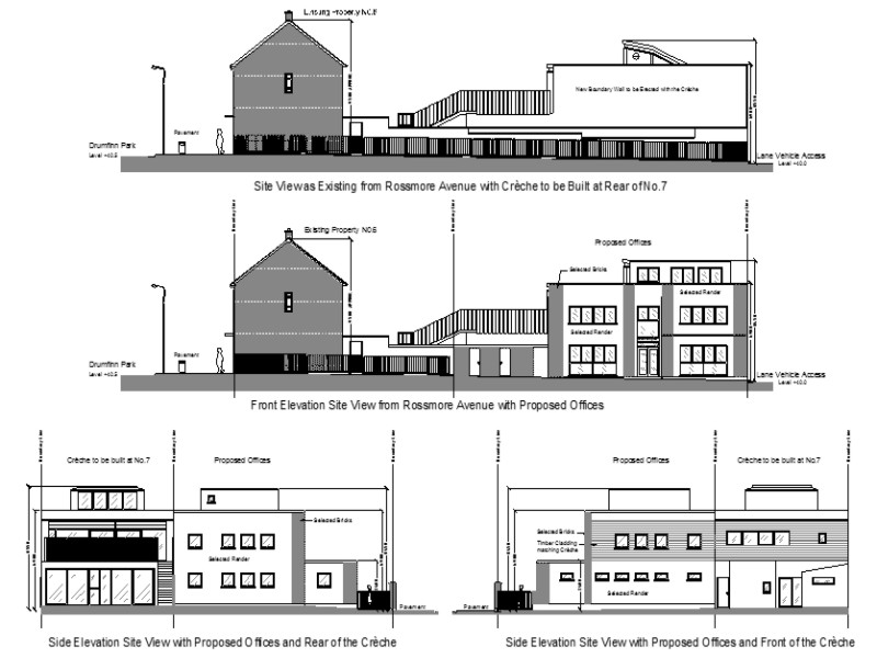 3 story office building project in Ballyfermot, Dublin 10