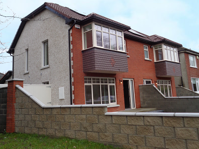 Semi-detached houses in Lucan, Co. Dublin