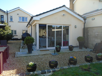 Garage conversion in Lucan