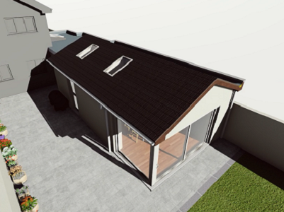 Lucan house extension and Garage conversion