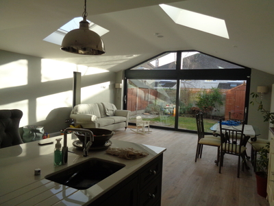 Single Storey Dwelling Rear Extension In Maynooth, Co. Kildare