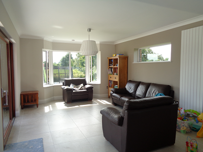 Single storey dwelling rear extension in Kilcloon, Co. Meath