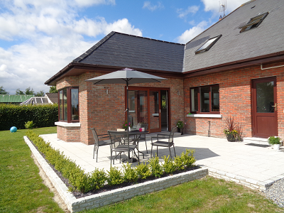 Single storey rear house extension in Kilcloon,  Co. Meath
