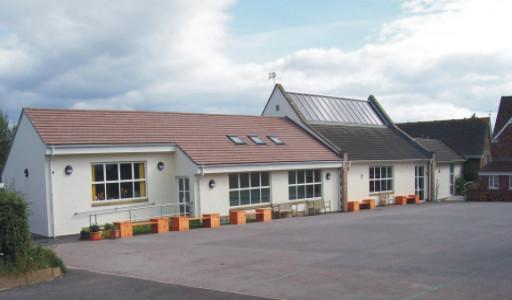 School extension in Gloucestershire